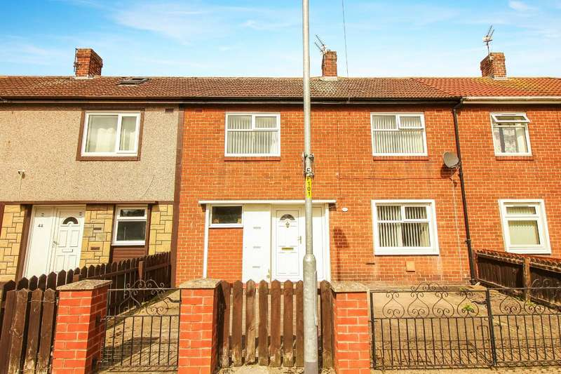 2 Bedrooms Terraced House for sale in Chillingham Crescent, Ashington