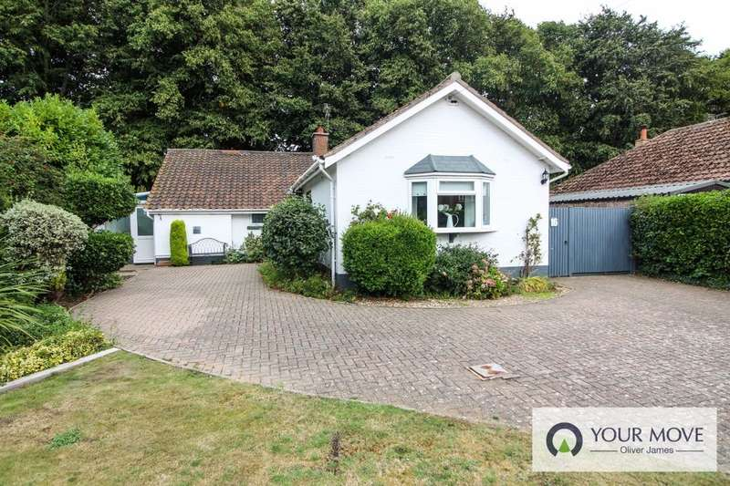 3 Bedrooms Detached Bungalow for sale in Station Road, Corton, Lowestoft, NR32