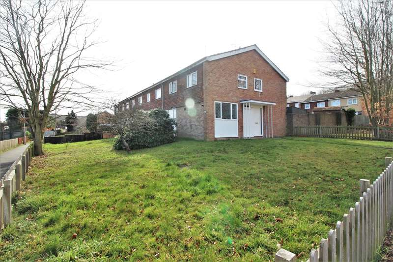 4 Bedrooms End Of Terrace House for sale in Gairn Close, Tilehurst, Reading, RG30