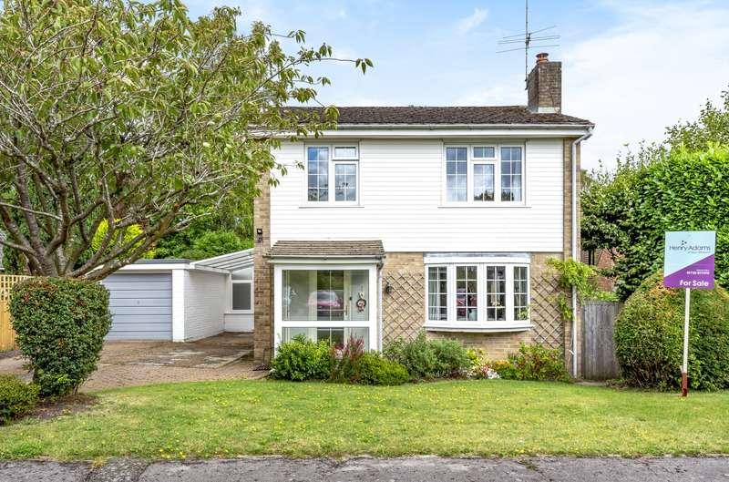 4 Bedrooms Detached House for sale in Guillards Oak, Midhurst, GU29