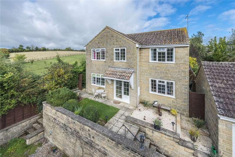 4 Bedrooms Detached House for sale in Park Road, Henstridge, Templecombe, Somerset, BA8
