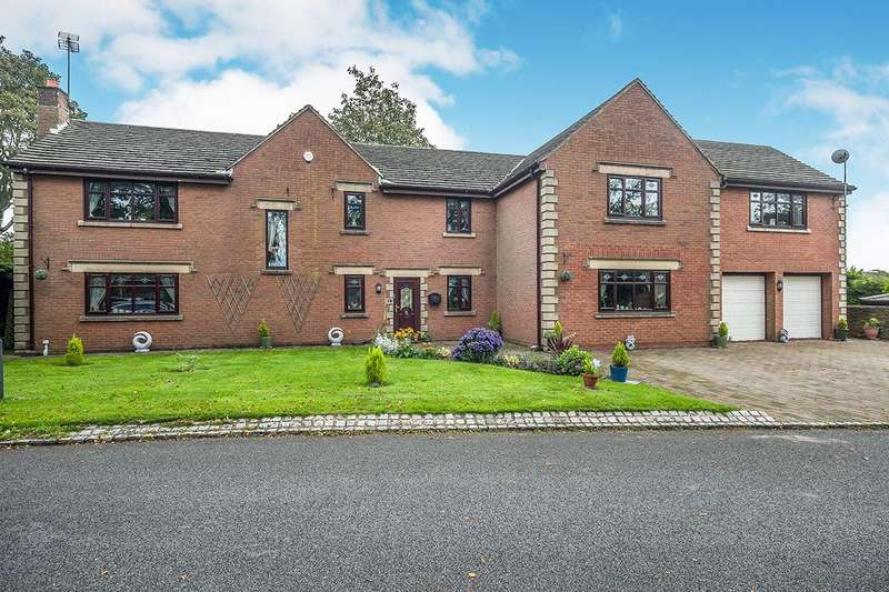 5 Bedrooms Detached House for sale in Manor House Drive, Crawford Road,Crawford Village, Lancashire, WN8
