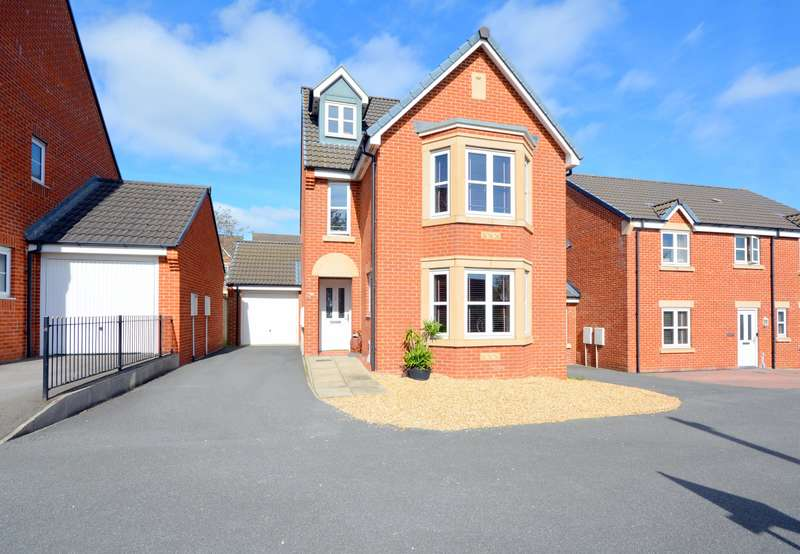 5 Bedrooms Detached House for sale in Wakenshaw Drive, Newton Aycliffe, DL5 4ZF