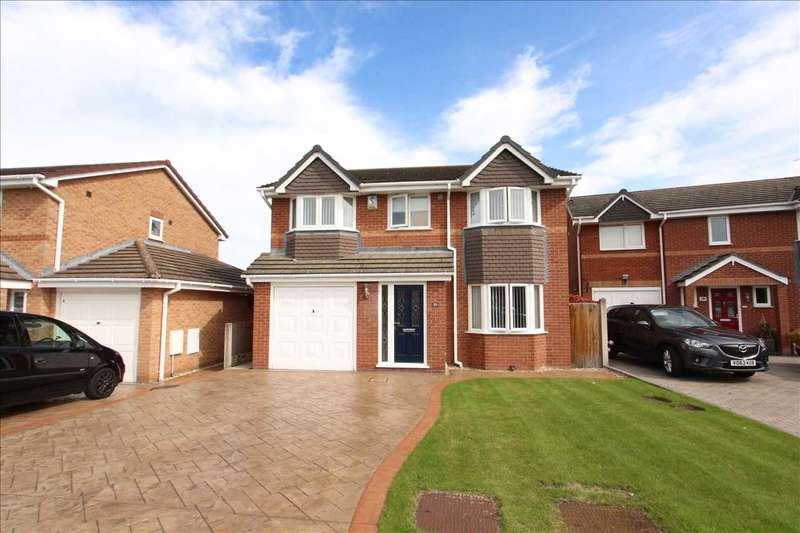 4 Bedrooms Detached House for sale in Lyneal Avenue, Great Sutton