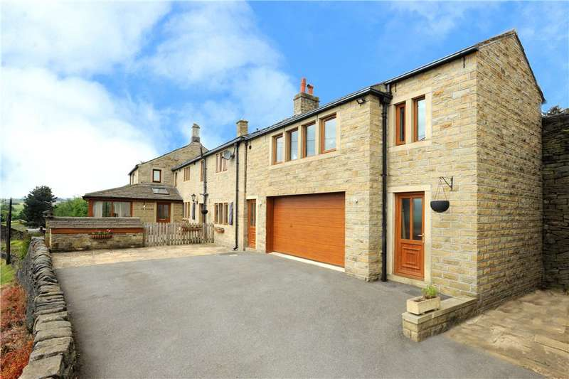 5 Bedrooms Unique Property for sale in Gilbert Cottages, Barsey Green Lane, Barkisland, West Yorkshire