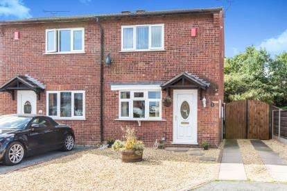 2 Bedrooms Semi Detached House for sale in Verdin Court, Crewe, Cheshire