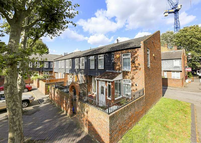 2 Bedrooms End Of Terrace House for sale in Langdale Close, London SE17