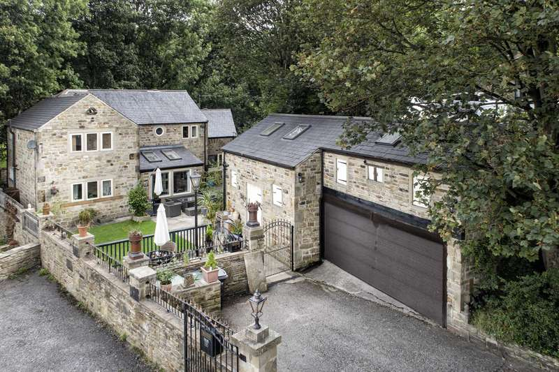 4 Bedrooms Detached House for sale in The Old Pump House, 11 Turnshaw Road, Kirkburton, HD8 0RT