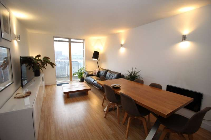 2 Bedrooms Apartment Flat for sale in The Bridge, 40 Dearmans Place, Salford, Greater Manchester, M3