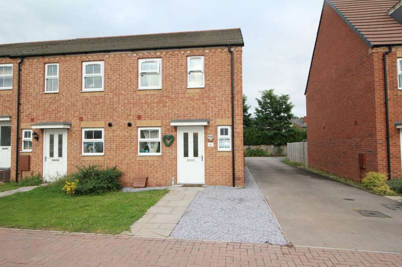 2 Bedrooms End Of Terrace House for sale in Northumberland Way, Walsall, West Midlands, WS2