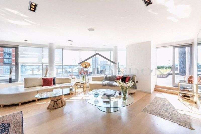 3 Bedrooms Property for sale in New Providence Wharf, Canary Wharf, London