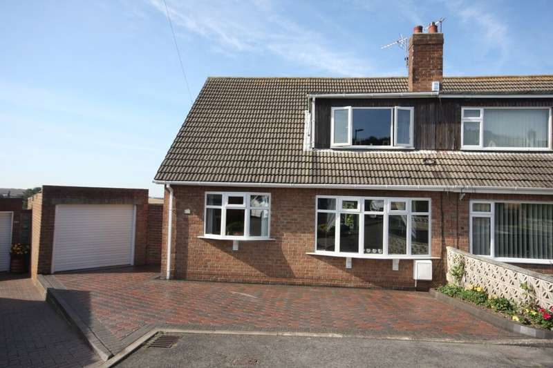 4 Bedrooms Semi Detached House for sale in Glebe Gardens, Easington, Saltburn-By-The-Sea, TS13