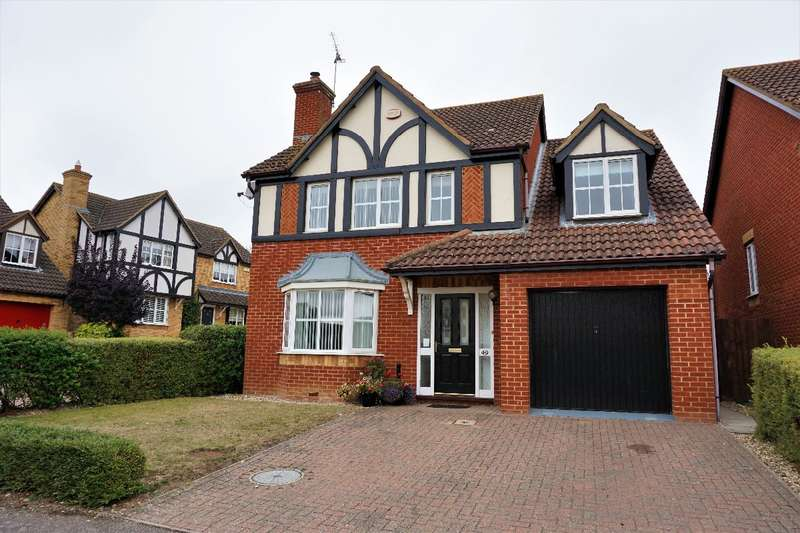 4 Bedrooms Detached House for sale in LILLY HILL, OLNEY