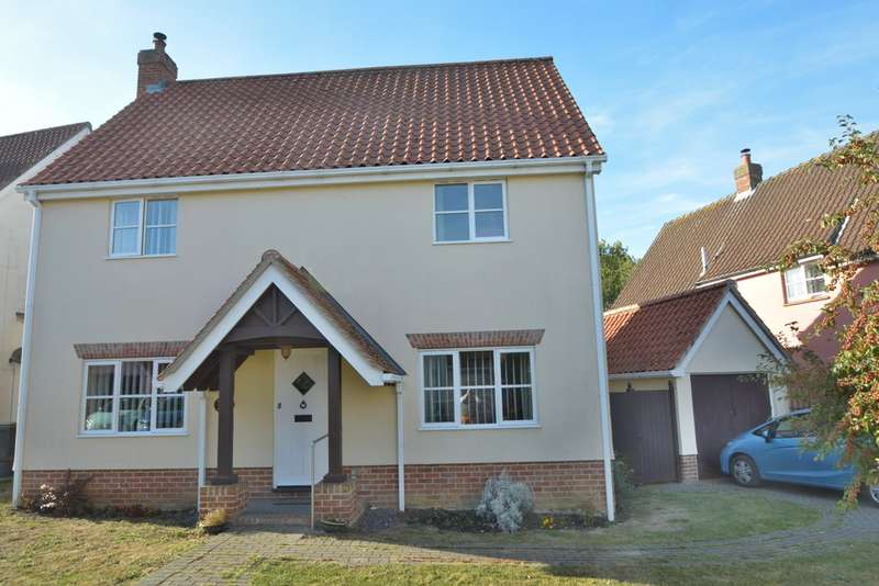 3 Bedrooms Detached House for sale in Columbine Way, Gislingham