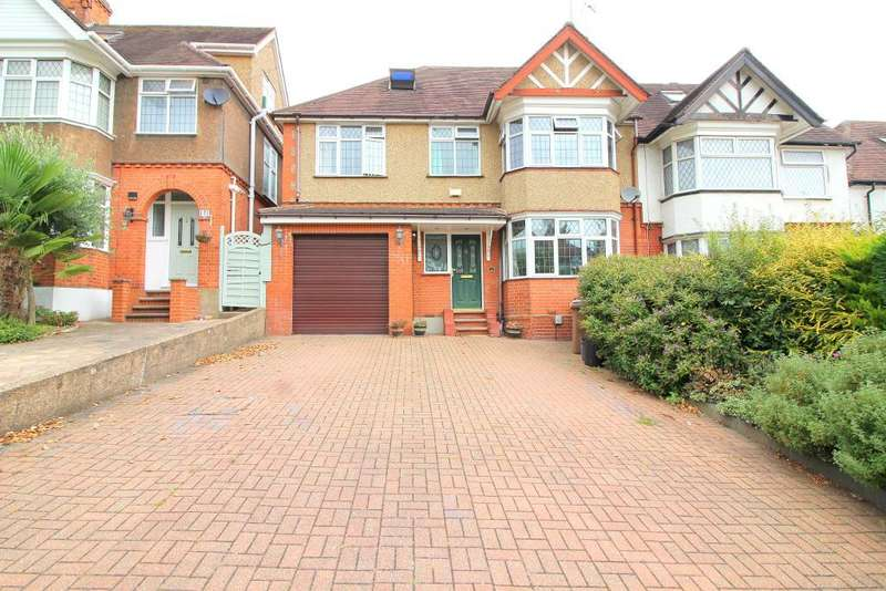 5 Bedrooms Semi Detached House for sale in Cutenhoe Road, Luton, Bedfordshire, LU1 3NG