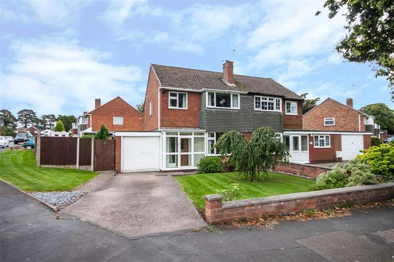 3 Bedrooms Semi Detached House for sale in Wolseley Road, Rugeley