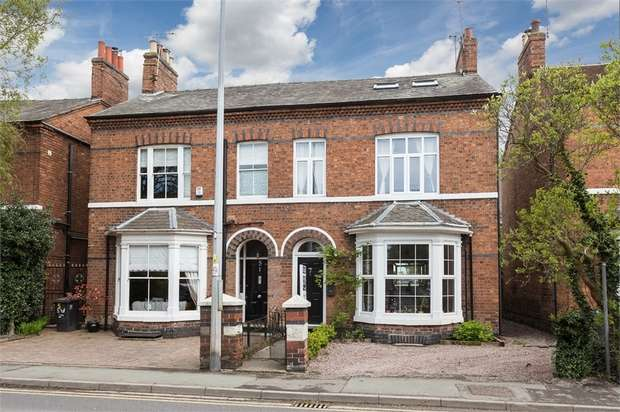 5 Bedrooms Semi Detached House for sale in Wellington Road, Nantwich, Cheshire