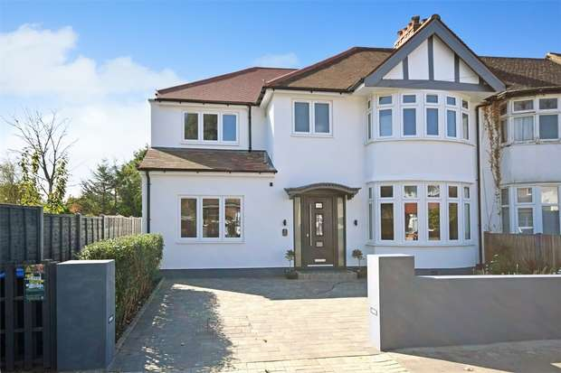 4 Bedrooms Semi Detached House for sale in Medway Gardens, WEMBLEY, Middlesex