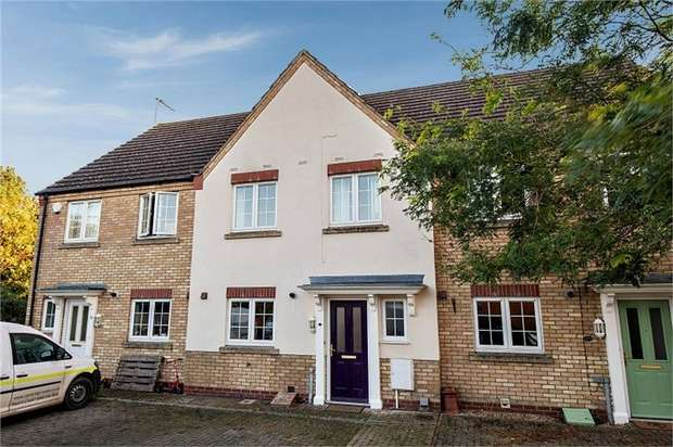 3 Bedrooms Terraced House for sale in Bluebell Close, Ramsey St Marys, Ramsey, Huntingdon, Cambridgeshire