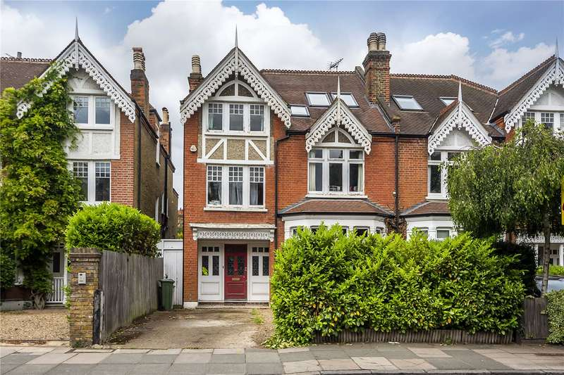 6 Bedrooms Semi Detached House for sale in Waldegrave Road, Strawberry Hill, TW1