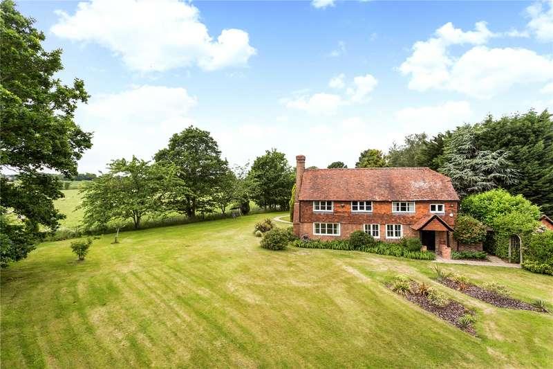 4 Bedrooms Detached House for sale in Badsell Road, Five Oak Green, Tonbridge, Kent, TN12