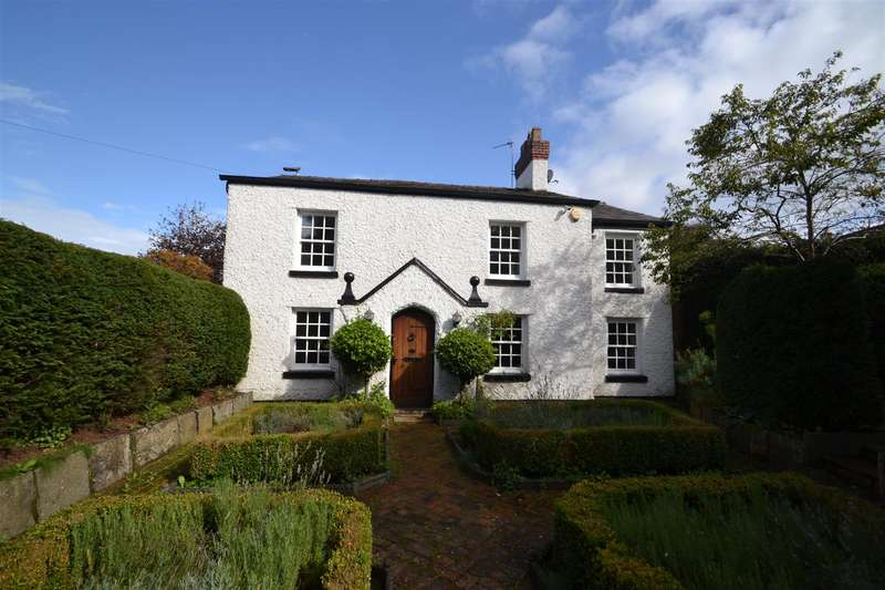 4 Bedrooms Detached House for sale in HILL TOP COTTAGE, Hill Top Road, STOCKTON HEATH, Warrington, WA4