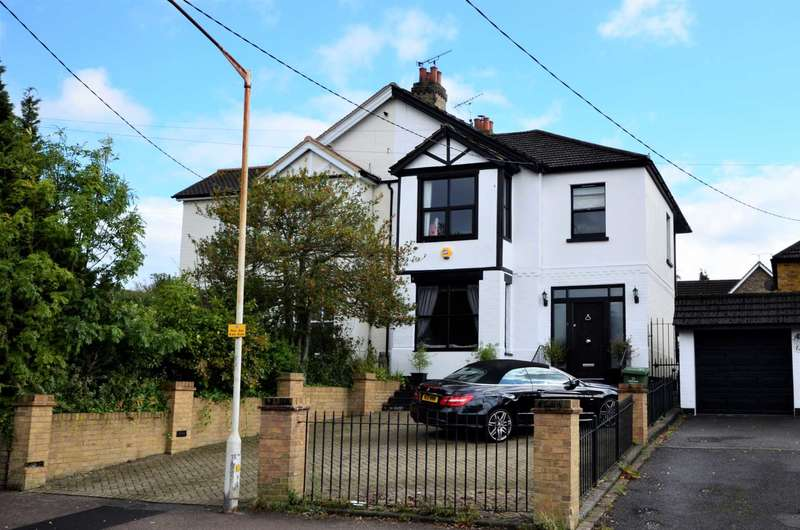4 Bedrooms Semi Detached House for sale in Western Road, Billericay