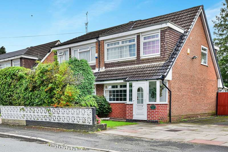 3 Bedrooms Semi Detached House for sale in Amberwood Drive, Manchester, M23