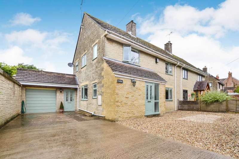 3 Bedrooms Semi Detached House for sale in Haresfield, Stonehouse, Gloucestershire