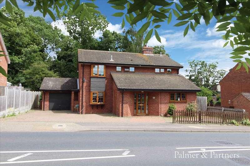 4 Bedrooms Detached House for sale in Belmont Road, Pinebrook, Ipswich