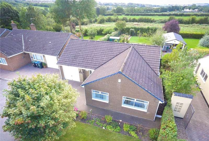 2 Bedrooms Detached Bungalow for sale in Station Road West, Coxhoe, Durham, DH6