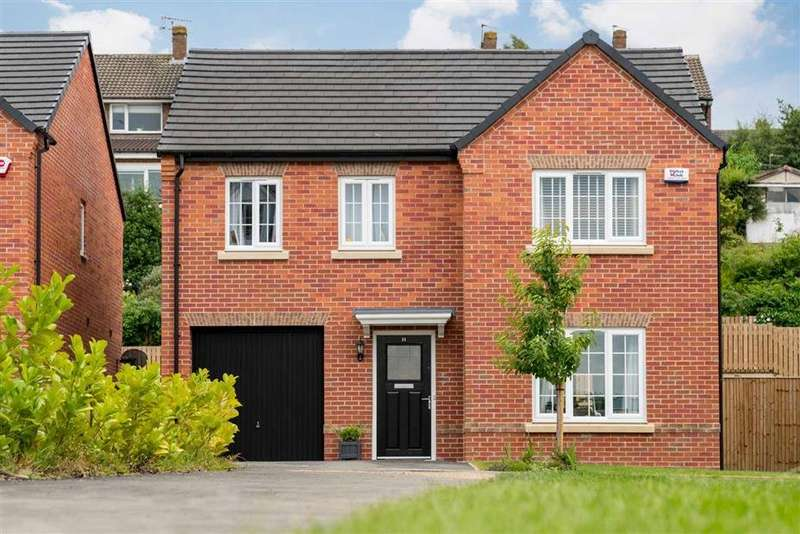 4 Bedrooms Detached House for sale in Hunloke Grove, Derby Road, Wingerworth, Chesterfield, S42