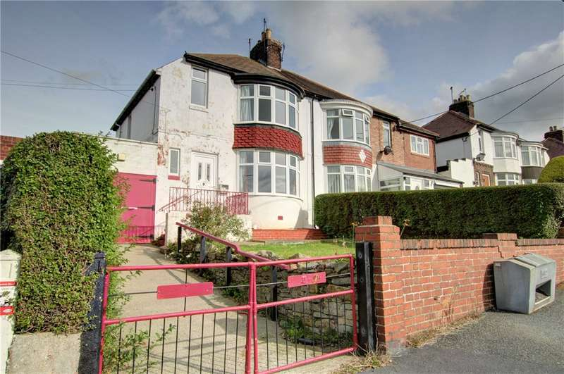 3 Bedrooms Semi Detached House for sale in Barley Mill Road, Consett, County Durham, DH8