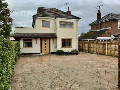 4 Bedrooms Detached House for sale in Southway, Blacon, Chester, Cheshire, CH1