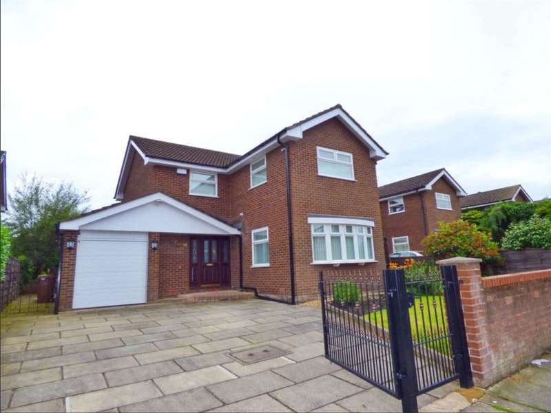 4 Bedrooms Detached House for sale in St. Andrews Drive, Heywood, Greater Manchester, OL10