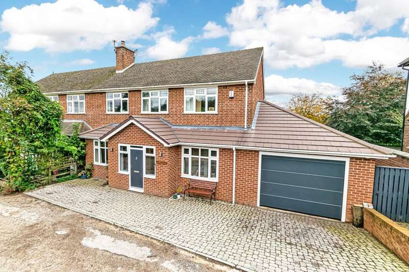 4 Bedrooms Semi Detached House for sale in Kingsley Green Kingsley Road, Frodsham, WA6
