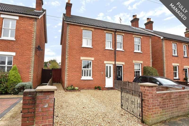 2 Bedrooms Semi Detached House for rent in Belmont Road, Camberley, Surrey, GU15