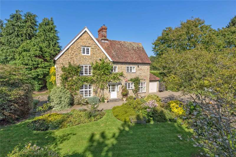 5 Bedrooms Detached House for sale in Ash Cottage, Corfton, Craven Arms, Shropshire, SY7