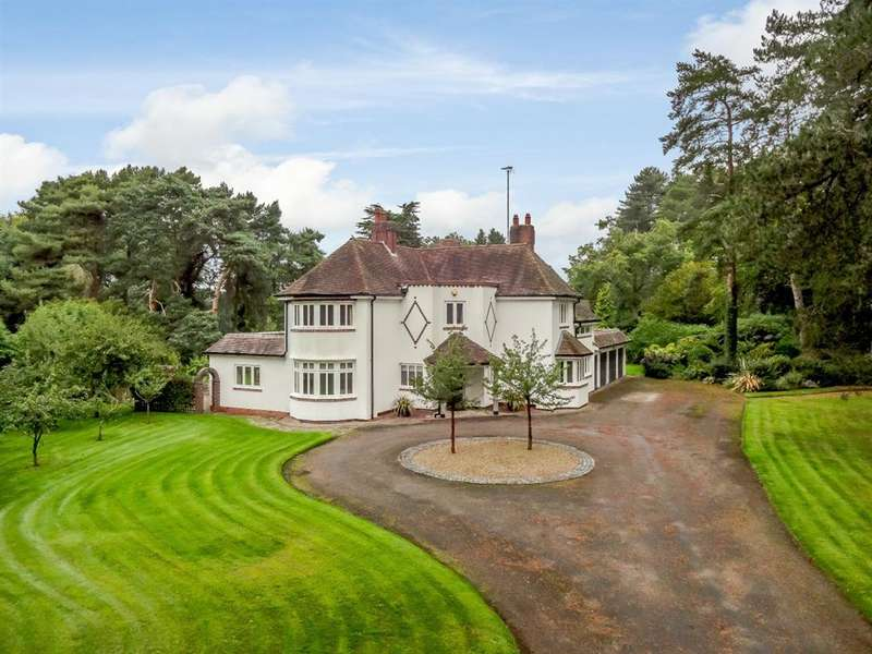 5 Bedrooms Detached House for sale in Penn Lane, Tanworth-in-Arden, Solihull, B94 5HH