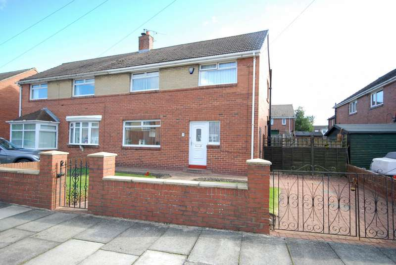 3 Bedrooms Semi Detached House for sale in Tennyson Avenue, West Boldon