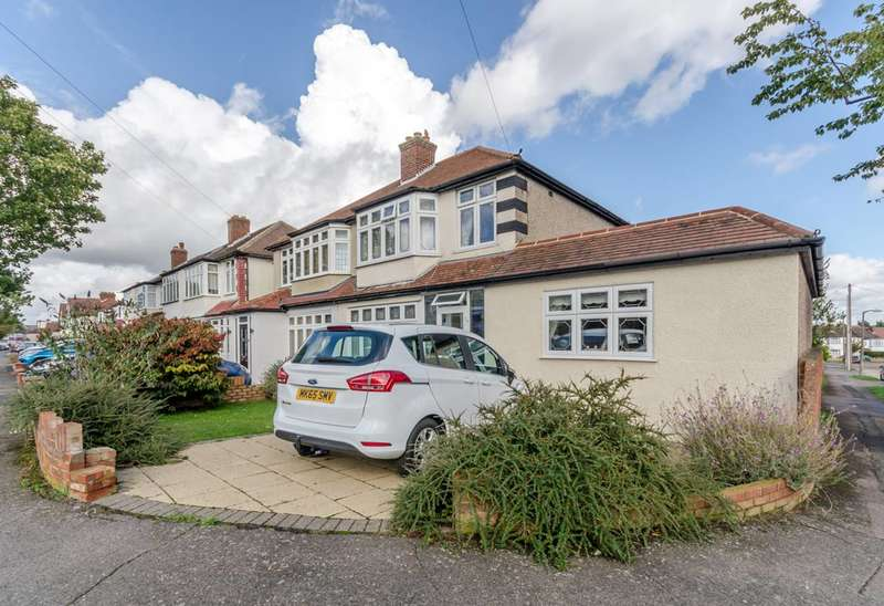 5 Bedrooms Semi Detached House for sale in Marlow Drive, SM3, Sutton, SM3