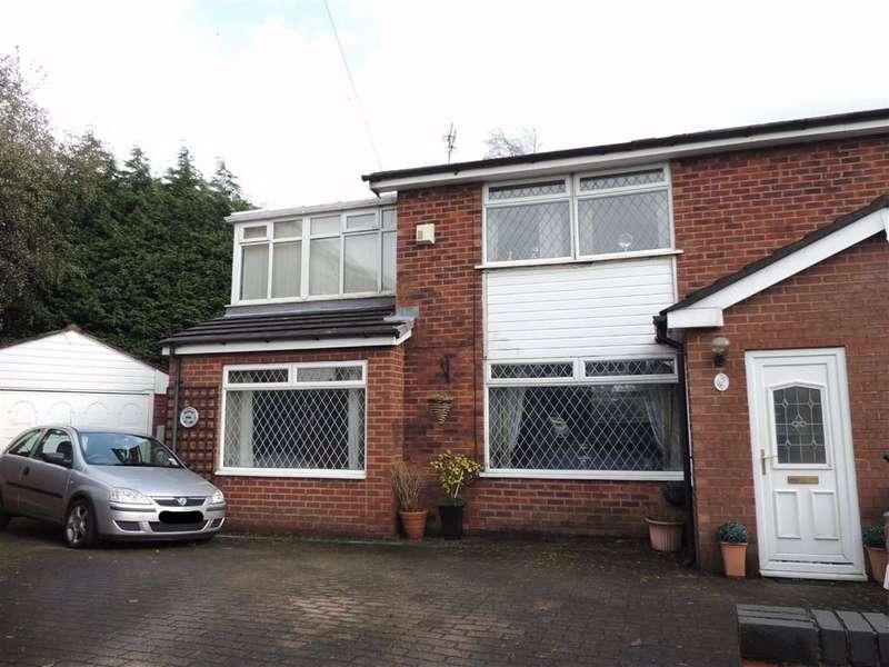 3 Bedrooms Semi Detached House for sale in Balmoral Drive, Stalybridge