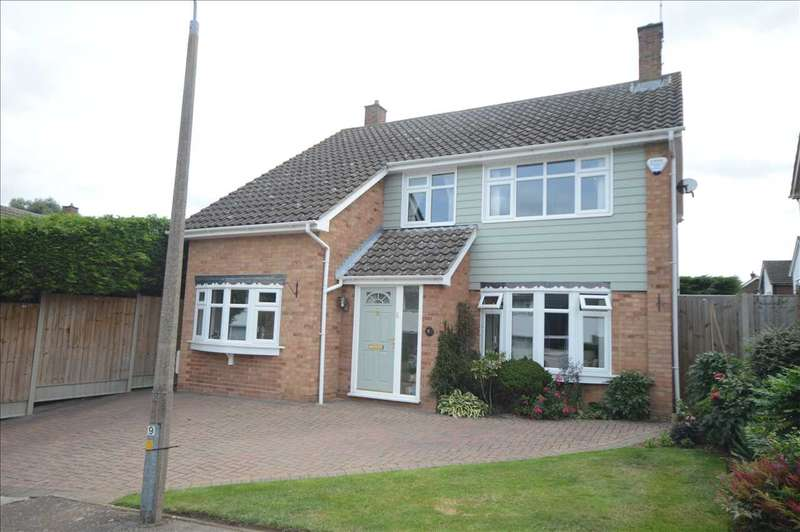 4 Bedrooms Detached House for sale in Spalding Way, Great Baddow, Chelmsford