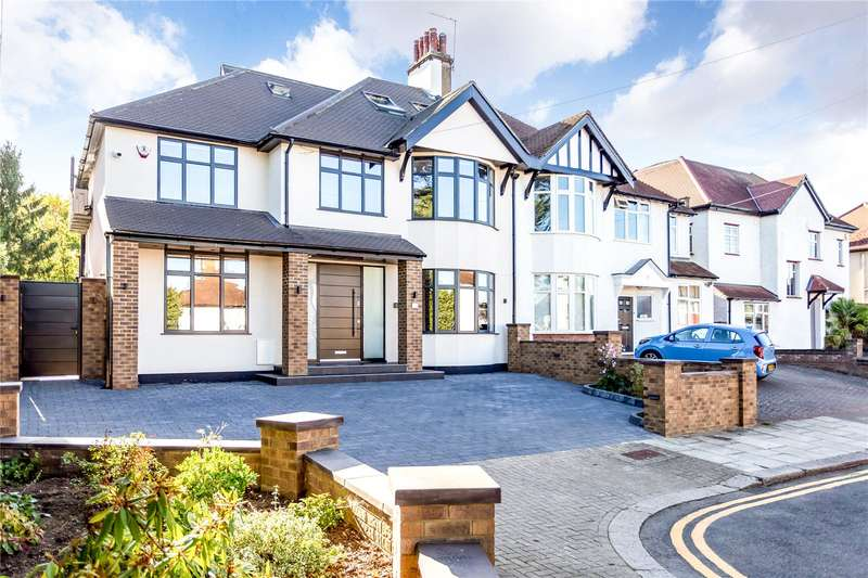 5 Bedrooms Semi Detached House for sale in Whitchurch Gardens, Edgware, HA8