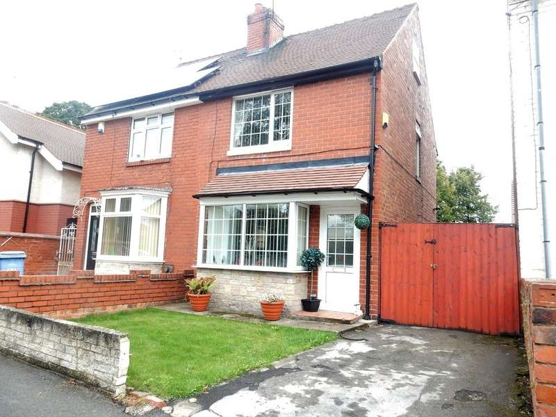 4 Bedrooms Semi Detached House for sale in Cemetery Road S80