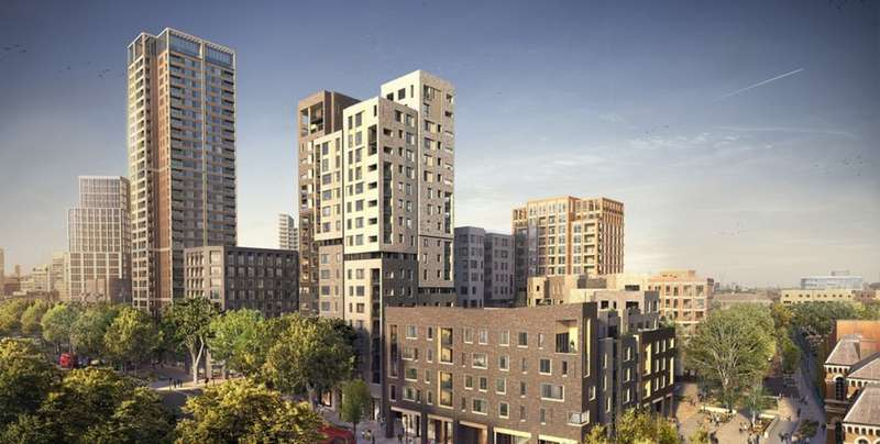 2 Bedrooms Apartment Flat for sale in Elephant Park SE17
