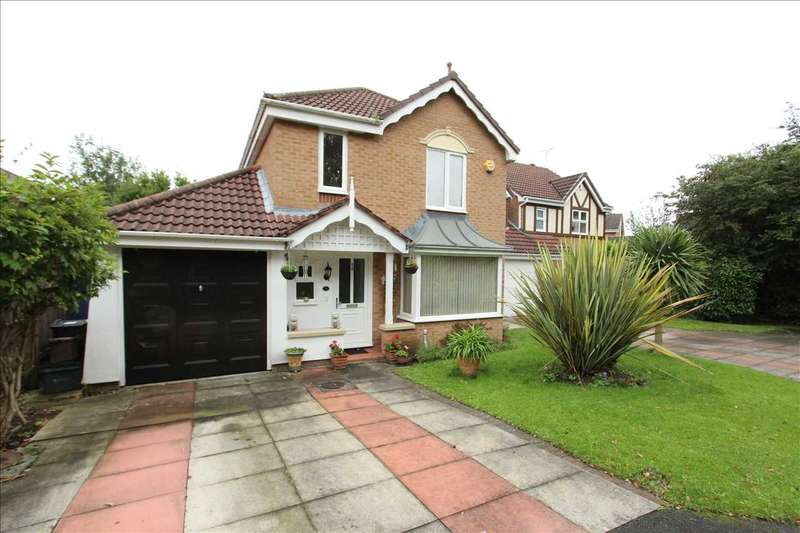 4 Bedrooms Detached House for sale in Bardsey Close, Ellesmere Port