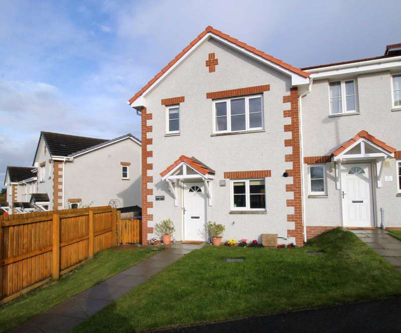 3 Bedrooms Terraced House for sale in Woodlands Drive, Inverness