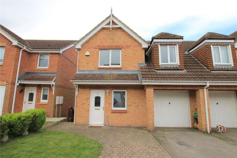 4 Bedrooms Semi Detached House for sale in The Chequers, Consett, County Durham, DH8