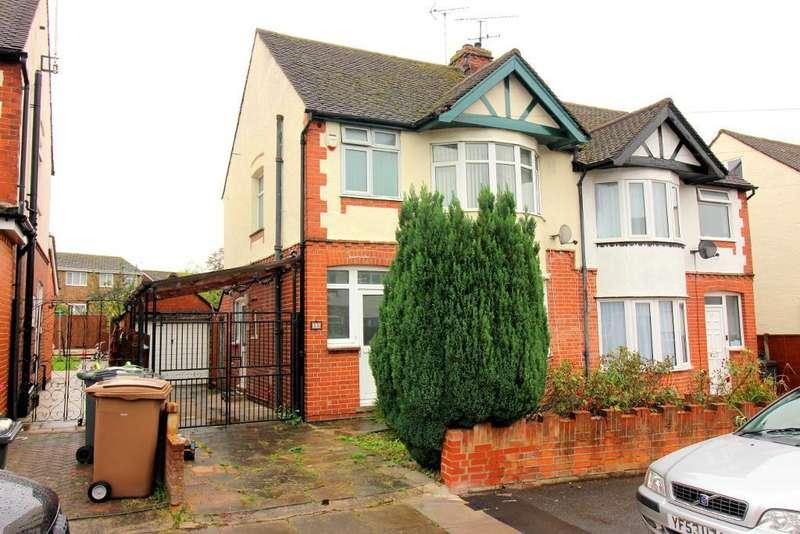 3 Bedrooms Semi Detached House for sale in Grosvenor Road, Luton, Bedfordshire, LU3 2EG